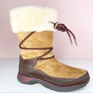 Ugg waterproof fur lined boots